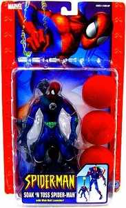 Spider-Man Action Figure Soak 'N Toss Spider-Man