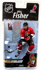 McFarlane Toys NHL Sports Picks Series 26 Action Figure Mike Fisher (Ottawa Senators) Red Jersey