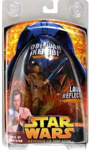 Star Wars E3 Revenge of the Sith Exclusive Action Figure Obi-Wan Kenobi [Lava Reflection, Duel At Mustafar]