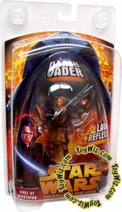 Star Wars E3 Revenge of the Sith Action Figure Exclusive Duel At Mustafar Lava Reflection Darth Vader