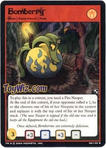Neopets Trading Card Game Battle for Meridell Uncommon Single Card #66 Bomberry