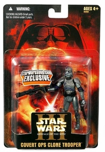 Star Wars E3 Revenge of the Sith Action Figure Exclusive Covert Ops Clone Trooper