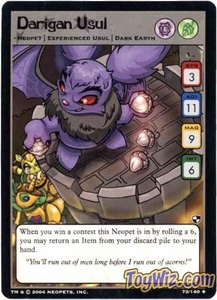Neopets Trading Card Game Battle for Meridell Uncommon Single Card #73 Darigan Usul