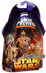 Star Wars Revenge of the Sith Sneak Preview Action Figure Wookie Warrior BLOWOUT SALE!