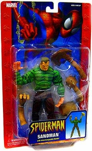 The Amazing Spider-Man Action Figure Sandman with Interchangeable Hands [Dark Sand]