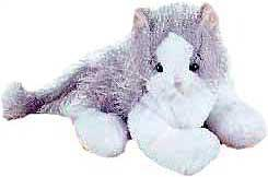 Webkinz Plush Gray & White Cat