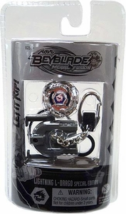 Beyblades Metal Fusion Chrome Series 2 Keychain Lightning L-Drago