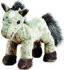 Webkinz Plush Grey Arabian Horse
