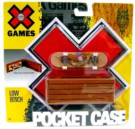 X Games Extreme Sports Skateboard Pocket Case Low Bench