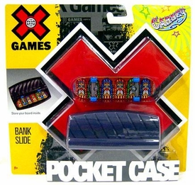 X Games Extreme Sports Skateboard Pocket Case Bank Slide