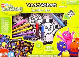 The Backyardigans Activity Set Jakks Pacific Vivid Velvet Jumbo Set