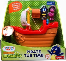 The Backyardigans Exclusive Playset Pirate Tub Time