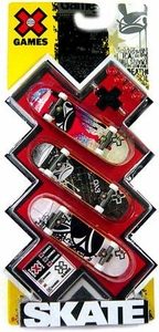 X Games Extreme Sports Skateboard 3-Pack Evo