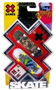 X Games Extreme Sports Skateboard 2-Pack Skulls