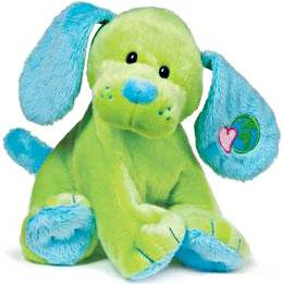 Webkinz Plush Green Earth Puppy