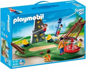 Playmobil Vacation & Leisure Set #4015 Super Set Activity Playground