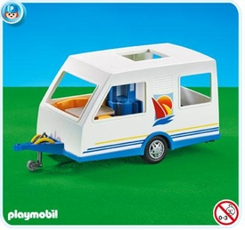 Playmobil Vacation & Leisure Set #7503 Camping Trailer