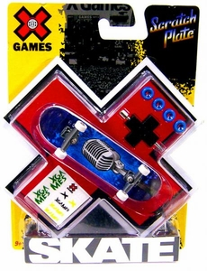X Games Extreme Sports Single Skateboard Vintage Microphone