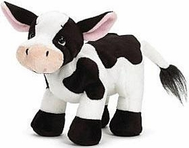 Webkinz Plush Holstein Cow