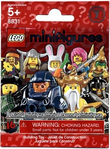 LEGO Minifigure Series 7 Mystery Pack [1 Random Mini Figure!]
