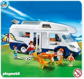 Playmobil Vacation & Leisure Set #4859 Family Motor Home Camper