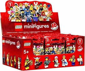 LEGO Minifigure Series 7 Mystery Box [60 Packs]
