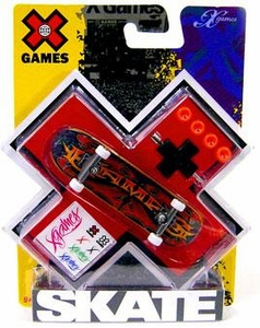 X Games Extreme Sports Single Skateboard X-Games Tattoo Logo