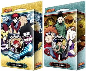 Naruto Shippuden Card Game Kage Summit Set of Both Theme Decks [Sibling's Fury & Permapower]