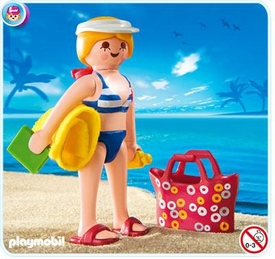 Playmobil Vacation & Leisure Set #4695 Vacationer