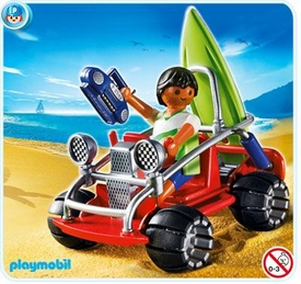 Playmobil Vacation & Leisure Set #4863 Beach Buggy
