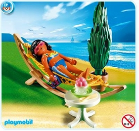 Playmobil Vacation & Leisure Set #4861 Woman in Hammock