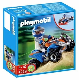 Playmobil Vacation & Leisure Limited Edition Set #4229 Racing Quad Bike