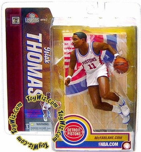 McFarlane Toys NBA Sports Picks Legends Series 2 Action Figure Isiah Thomas (Detroit Pistons) White Jersey
