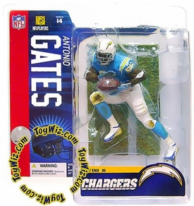McFarlane Toys NFL Sports Picks Series 14 Action Figure Antonio Gates (San Diego Chargers) Powder Blue Jersey
