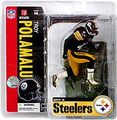 McFarlane Toys NFL Sports Picks Series 14 Action Figure Troy Polamalu (Pittsburgh Steelers) Black Jersey