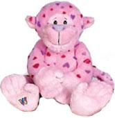 Webkinz Plush Love Monkey