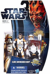 Star Wars 2012 Clone Wars Action Figure #07 Clone Commander Cody