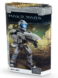 Halo Wars Mega Bloks Buildable Figure Set #96819 ODST [Oribital Drop Shock Trooper]