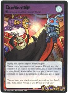 Neopets Trading Card Game Return of Dr. Sloth Holofoil Rare Single #3 Domination