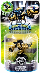 Skylanders SWAP FORCE Exclusive Swappable Figure Legendary Night Shift