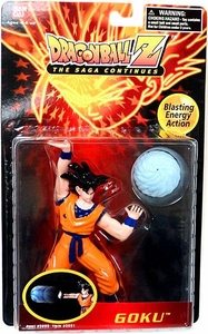 Dragon Ball Z The Saga Continues Blasting Energy Action Figure Goku