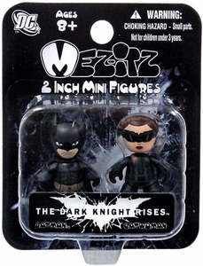 The Dark Knight Rises Mini Mez-Itz Vinyl Figure 2-Pack Batman & Catwoman