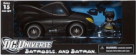Batman Mezco Toyz Mez-Itz Action Figure & Vehicle Batmobile & Batman