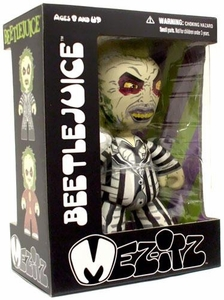 Beetlejuice Mezco Toyz Mez-Itz 6 Inch Vinyl Figure Beetlejuice [Checkered Tuxedo]