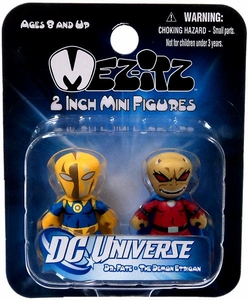DC Universe Mini Mez-Itz Series 2 Vinyl Figure 2-Pack Dr. Fate & Etrigan the Demon