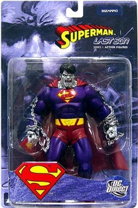 DC Direct Superman Last Son Action Figure Bizarro