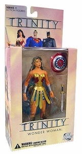 DC Direct Trinity Series 1 Action Figure Wonder Woman