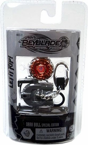 Beyblades Metal Fusion Chrome Series 2 Keychain Dark Bull