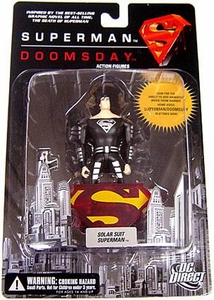 DC Direct Superman Doomsday Action Figure Solar Suit Superman