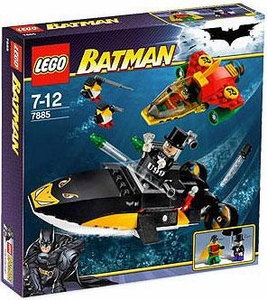 LEGO Batman Set #7885 Robin's Scuba Jet: Attack of the Penguin